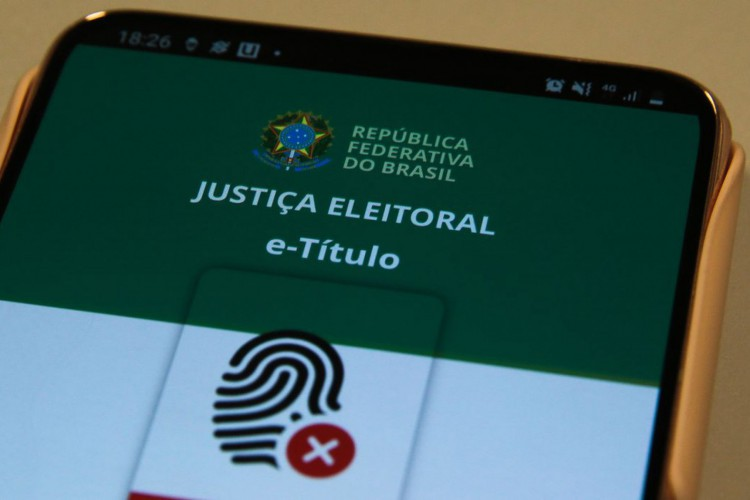 e-Título é um aplicativo móvel para obtenção da via digital do título de eleitor (Foto: Marcello Casal JrAgência Brasil)