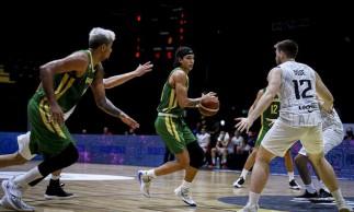 Basquete: Caio Pacheco brilha de novo e Brasil se garante na AmeriCup
