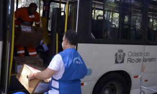 TRE-RJ transporta as urnas eletrônicas para os locais de votação do Rio de Janeiro