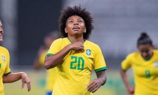 Valéria destaca confiança de Pia e explica emoção após gol em estreia