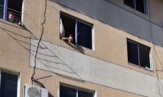 Apartamento pegou fogo no bairro Conjunto Esperança