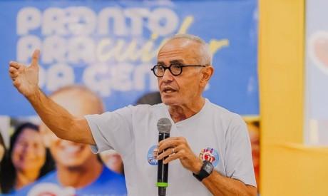 Cícero Lucena, que se reelegeu como prefeito de João Pessoa após 20 anos