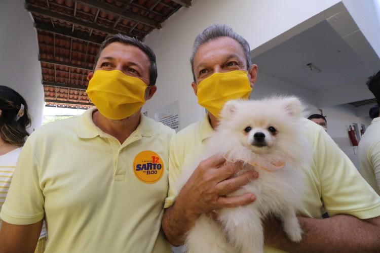 José Sarto e Élcio Batista são acusados de abuso de poder político e econômico nas eleições do ano passado  (Fotos: Fabio Lima/O POVO) (Foto: FÁBIO LIMA/O POVO)