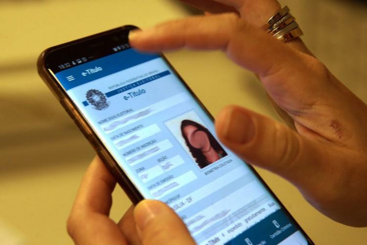 título de eleitor digital,e-Título (Foto: Marcello Casal JrAgência Brasil)