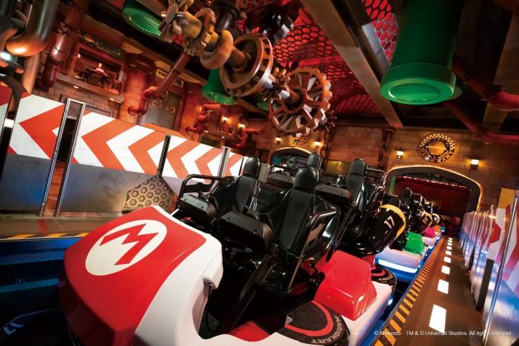 A Universal Studios Japan divulgou imagens do parque  (Foto: Reprodução/Twitter USJ)