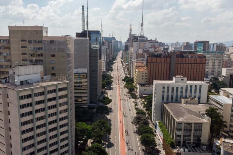 São Paulo, Avenida Paulista (Foto: Rogério Cassimiro/ MTUR)