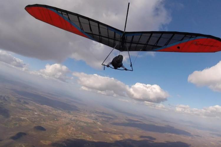 Quixadá foi sede do maior evento mundial de voo livre de distância (Foto: Divulgação)