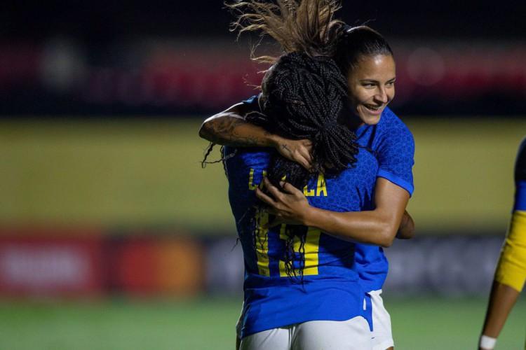 Brasil faz oito no Equador e aplica maior goleada com Pia Sundhage (Foto: Lucas Figueiredo/CBF)