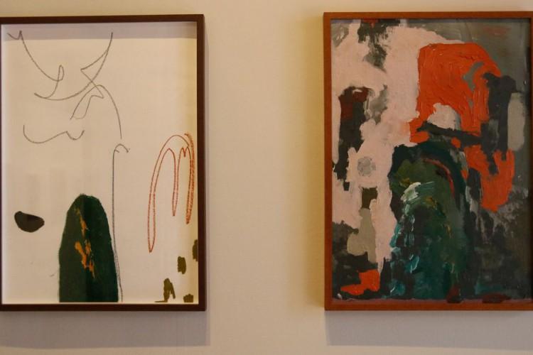 A exposição Sob a Potência da Presença, com curadoria de Keyna Eleison, traz obras de arte contemporânea de mulheres negras ao Museu da República (Foto: Fernando Frazão/Agência Brasil)