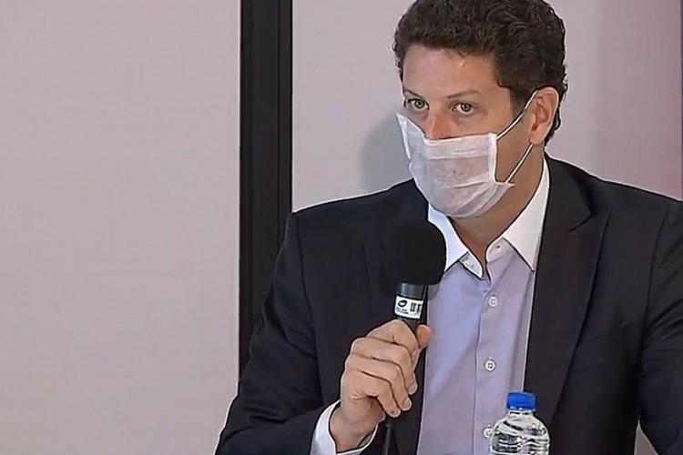Coletiva de Imprensa sobre Operação Verde Brasil (Foto: TV Brasil)