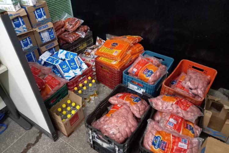 Produtos roubados e recuperados pela Polícia civil (Foto: Foto: Ascom/Polícia Civil)
