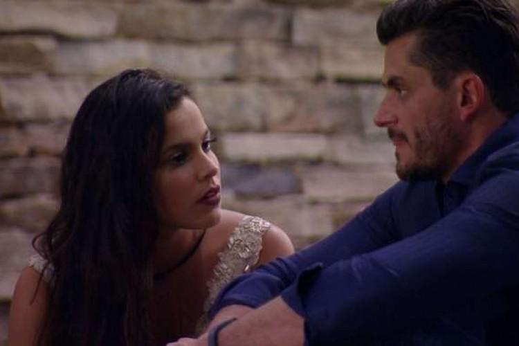 Imagens de Emilly e Marcos no BBB17 (Foto: Reprodução/TV Globo)