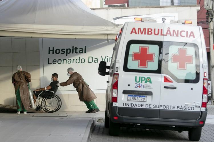 Segundo atualização da plataforma IntegraSUS da Secretaria da Saúde do Estado (Sesa), a Capital cearense tem 73.816 casos e 4.047 mortes confirmadas de Covid-19 (Foto: Aurelio Alves/ O POVO)