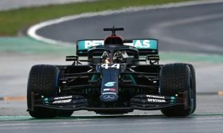 George Russell substitui Lewis Hamilton na Mercedes no segundo GP do Bahrein de 2020