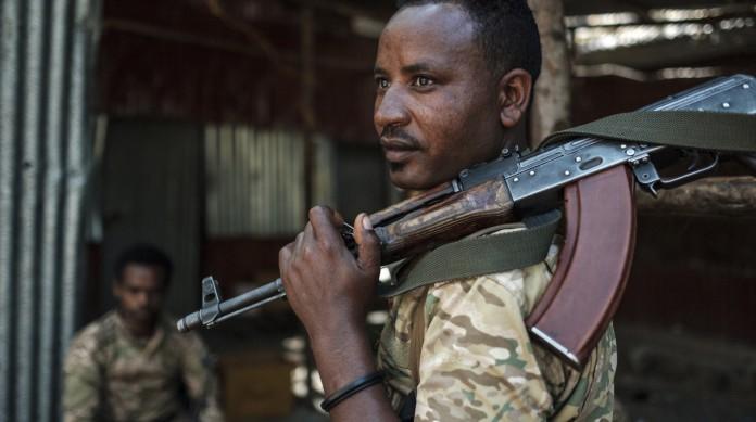 Membro das Forças Espeicias Amhara (segunda maior etnia do país), que integra o Comando Nordeste do Exército etíope, responsável pela incursão na região dos tigrés