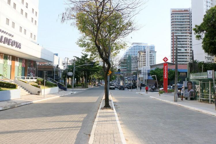 Intervenções na avenida tem previsão de conclusão para janeiro de 2021 (Foto: Divulgação/Seinf)