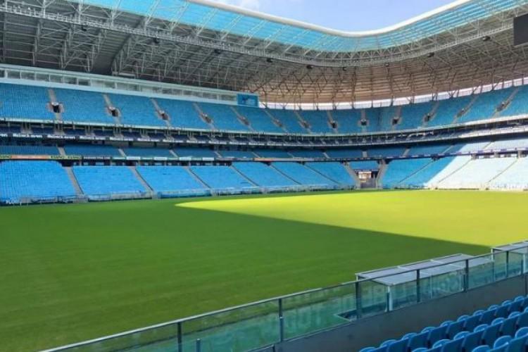 Vasco e Grêmio se enfrentam hoje na Arena, pelo Brasileirão 2020; veja onde assistir à transmissão ao vivo do jogo e a escalação de cada time (Foto: Arena Grêmio / Divulgação)
