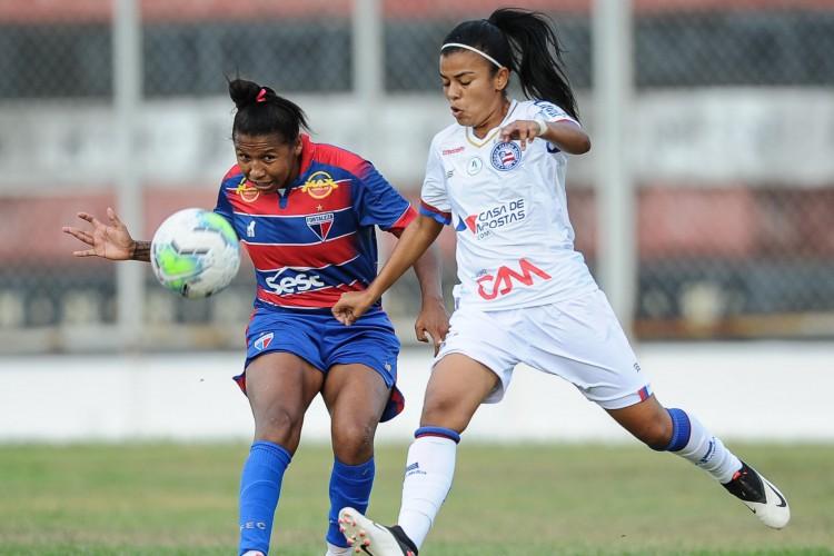 Fortaleza e Bahia ficaram no 0 a 0 no estádio Raimundão, em Caucaia (Foto: Samuel Andrade / Fortaleza EC)