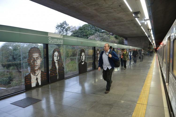 Estação Sumaré da linha verde do metrô de São Paulo. (Foto: Rovena Rosa/Agência Brasil)