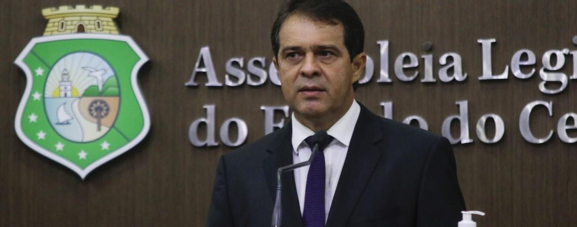 Evandro Leitão, futuro presidente da Assembleia Legislativa (Foto: Thais Mesquita)