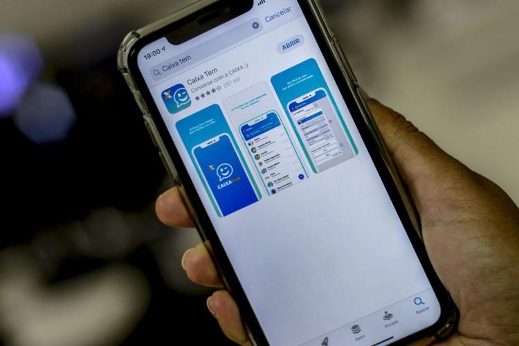 Caixa começa a pagarhojeabono do PIS em poupança digital (Foto: Marcello Casal JrAgência Brasil)