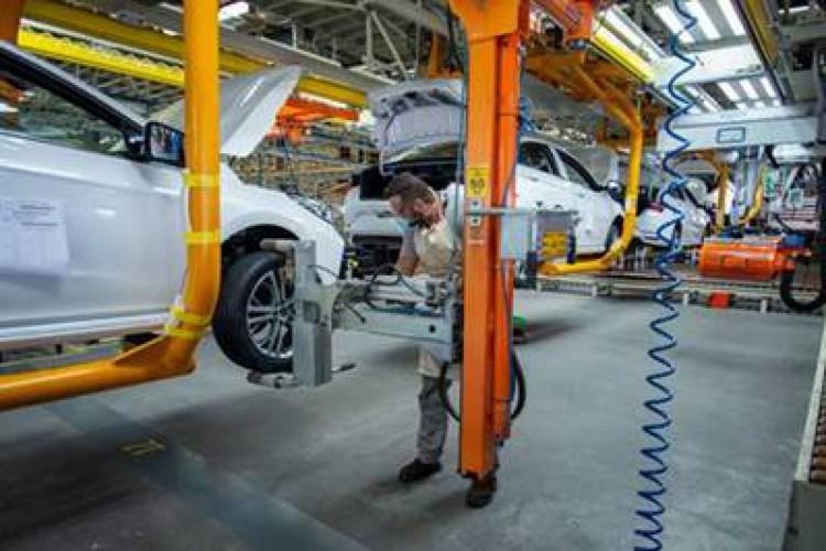 A capacidade produtiva da montadora é superior a 130 mil carros por ano (Foto: DIVULGAÇÃO)
