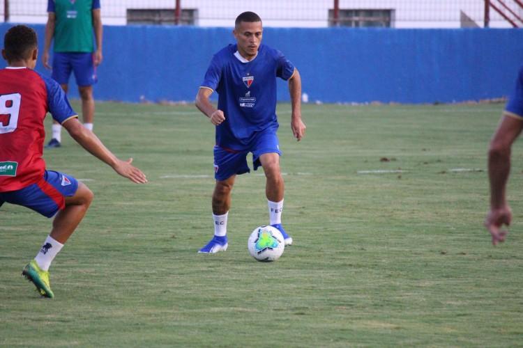 João Paulo ficou nove dias afastado do Fortaleza  (Foto: Bruno Oliveira/Fortaleza EC)