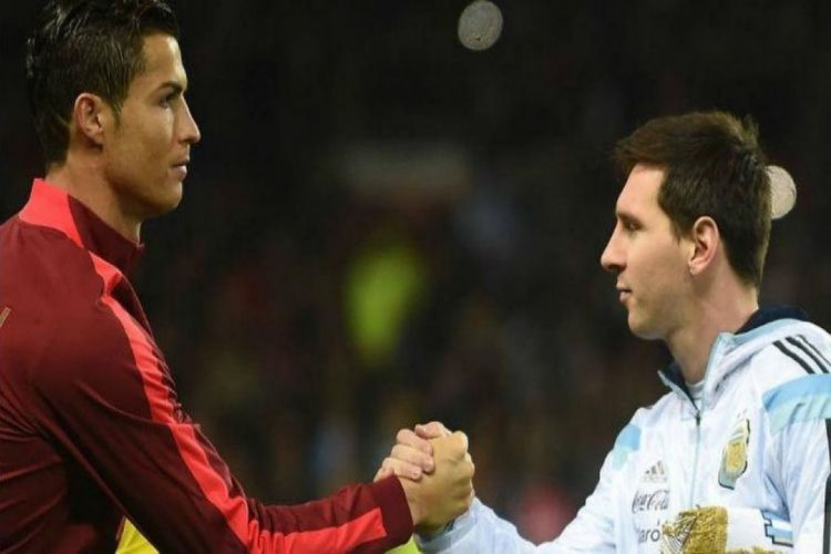 Cristiano Ronaldo e Messi se reencontram na Champions League (Foto: AFP)