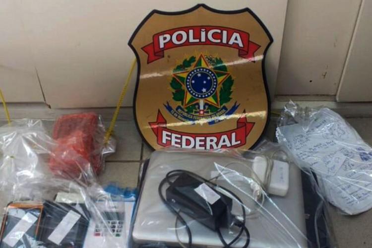 Polícia Federal combate fraudes a cartões de crédito em São Paulo.Operação Pegada Digital investiga fraudes que podem ter causado prejuízo de R$ 100 mil à Caixa Econômica Federal (Foto: Operação Pegada Digital/Polícia Federal)