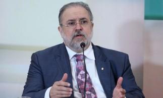 Antônio Augusto Brandão de Aras, Subprocurador-Geral da República, durante debate