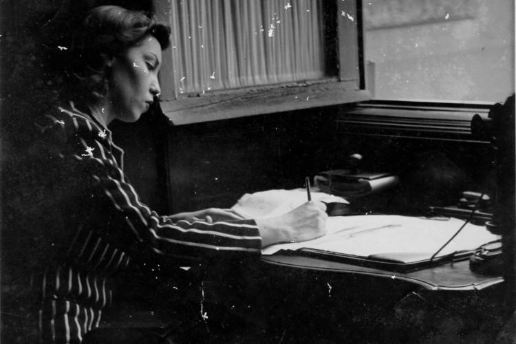 CLARICE escrevia cartas com frequência (Foto: Acervo Clarice Lispector / Instituto Moreira Salles)