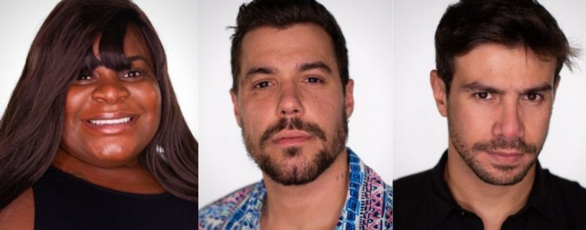 Jojo, Lipe e Mariano estão na décima segunda roça do reality A Fazenda 2020 (Foto: Reprodução/Record TV)