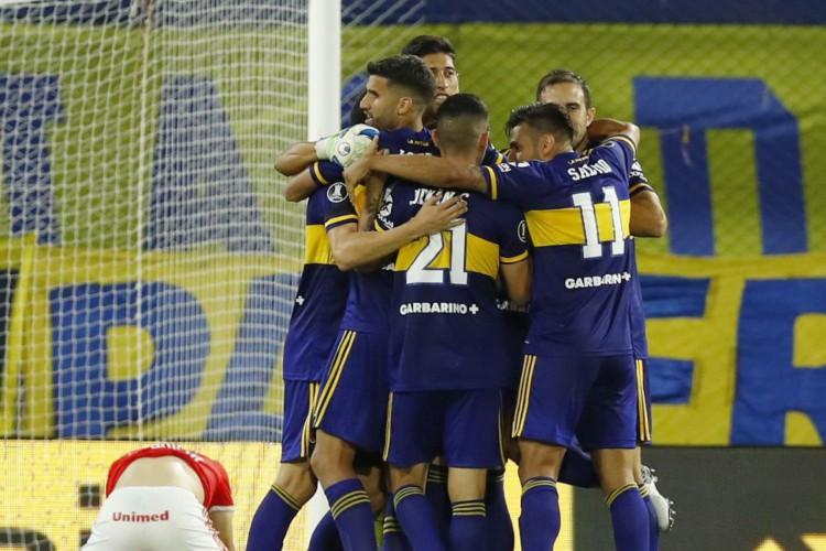 Libertadores: Internacional tem grande atuação, vence, mas Boca avança (Foto: )