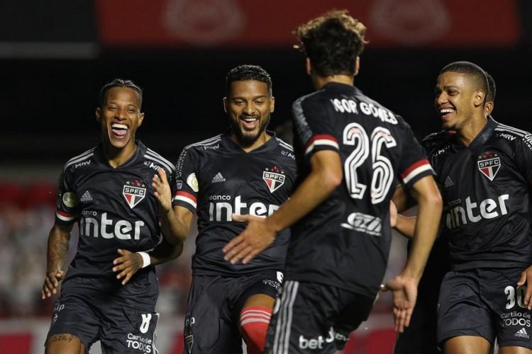 Brasileirão 2020.SPFC x Botafogo.Data  09/12//2020.Foto: Rubens Chiri/saopaulofc.net (Foto: Rubens Chiri)