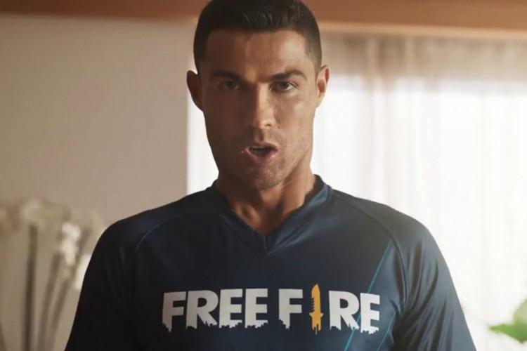 A Garena oficializou em seus canais digitais que Cristiano Ronaldo foi escolhido como o novo embaixador de Free Fire, um fenômeno do gênero no Brasil (Foto: Divulgação / Garena)