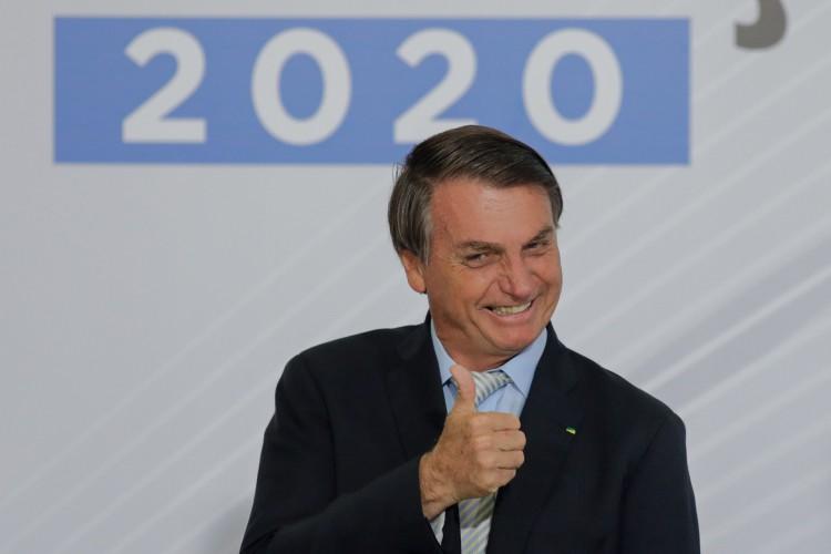 Presidente Jair Bolsonaro  (Foto: SERGIO LIMA / AFP)