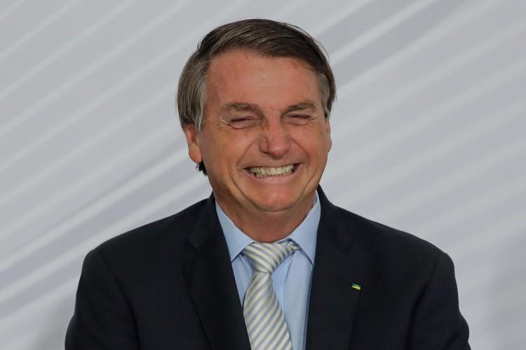 """37% dos brasileiros consideram que o presidente Bolsonaro está fazendo um trabalho """"bom"""" ou """"muito bom"""" (Foto: SERGIO LIMA / AFP)"""
