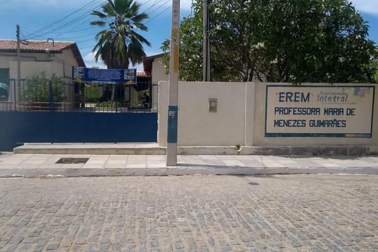 A escola premiada fica no sertão pernambucano   (Foto: DIVULGAÇÃO)
