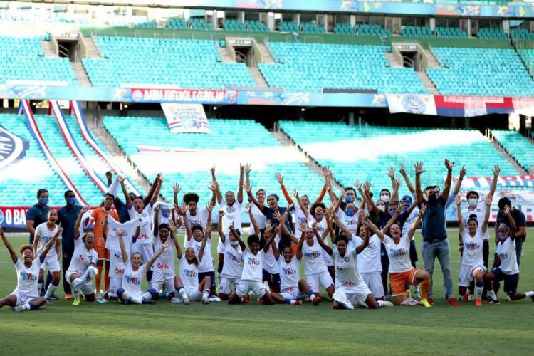 Bahia e Real Brasília garantem acesso à elite do Brasileiro Feminino (Foto: FELIPE OLIVEIRA)