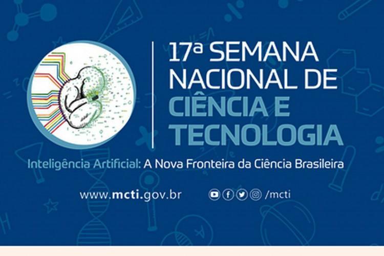 De 7 a 13 de dezembro, o Ministério da Ciência, Tecnologia e Inovações (MCTI) promove no Pavilhão de Exposições do Parque da Cidade, em Brasília, a edição presencial da Semana Nacional de Ciência e Tecnologia (SNCT) 2020. O tema do evento é:  (Foto: Ministério da Ciência; Tecnologia e Inovações)