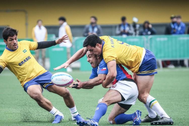 Rugby: Seleção Masculina está no Chile para Sul-Americano de Sevens (Foto: DANILOBORGES)