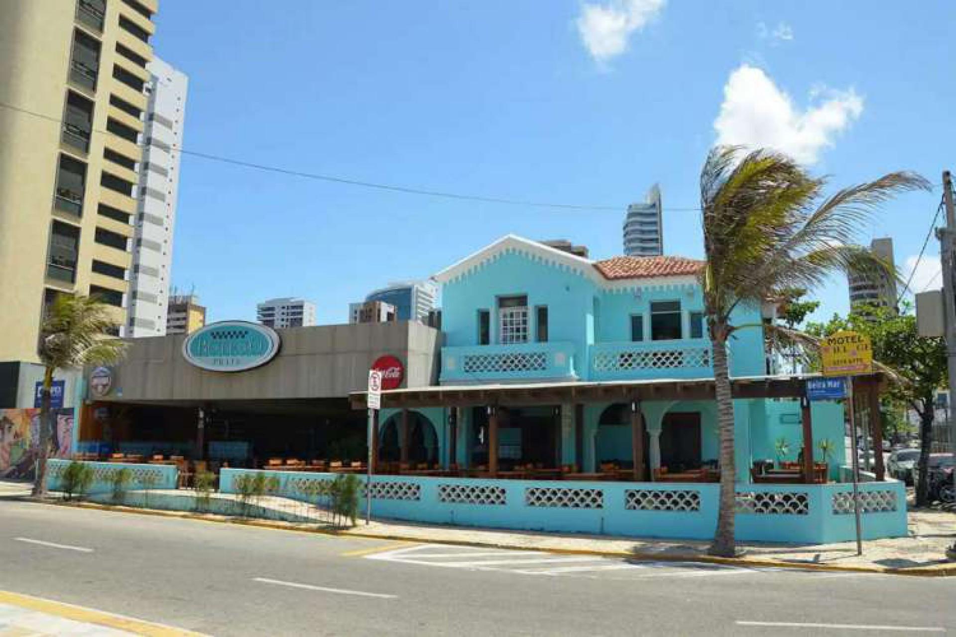 (Foto: Adriano Accioly/Nossa Praça Urgente)Casa do antigo Boteco Praia pertenceu à família do senador Carlos Jereissati