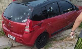 Motorista de aplicativo e passageira foram assassinados na tarde deste domingo em Caucaia