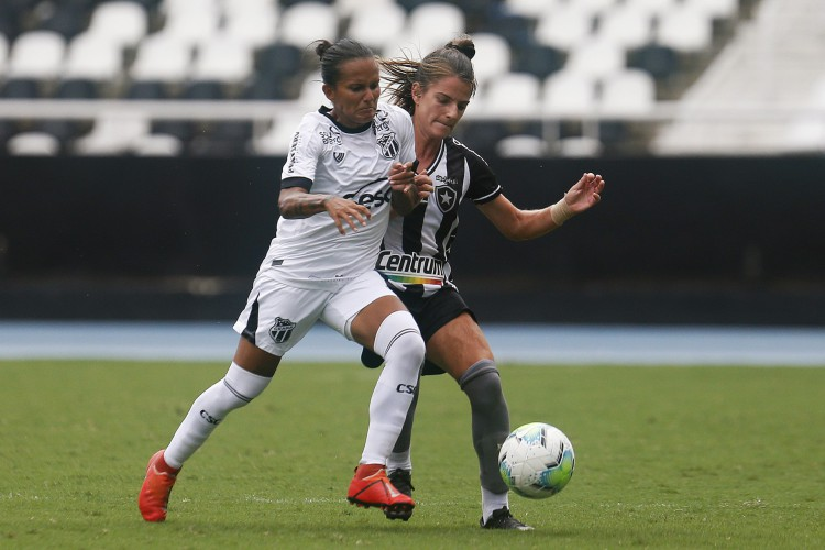 Botafogo e Ceará disputaram a partida de ida das quartas da Série A-2 do Brasileirão no estádio Nilton Santos. (Foto: Vitor Silva/ Botafogo)
