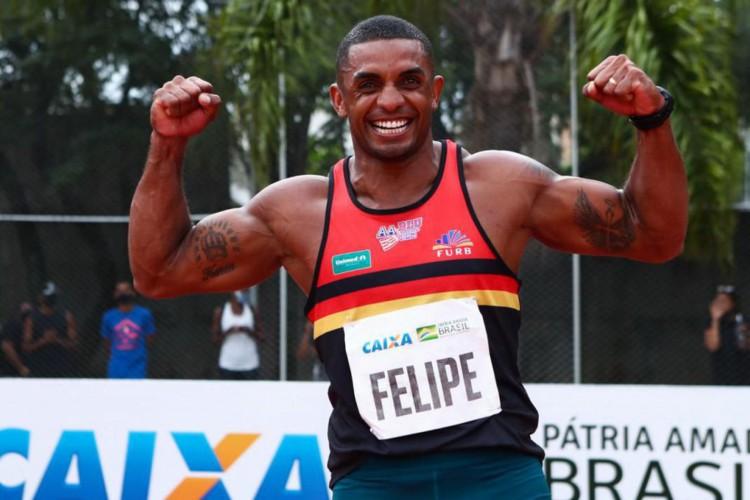 Jogos de Tóquio: Felipe Vinícius dos Santos alcança índice olímpico (Foto: )