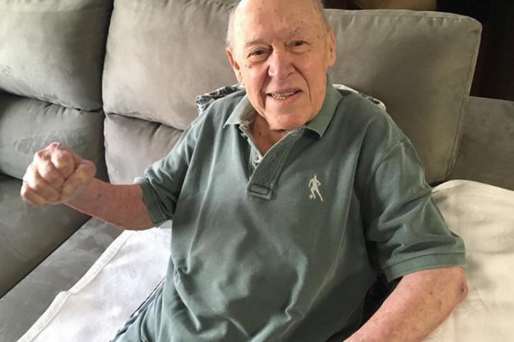 Orlando Duarte morre aos 88 anos, vítima do novo coronavírus (Foto: Reprodução / Twitter)