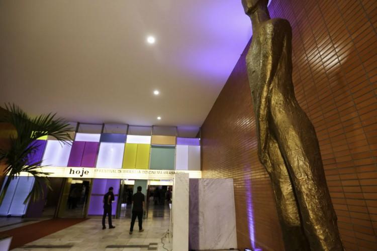 Cerimônia de abertura do 51º Festival de Brasília do Cinema Brasileiro, no Cine Brasília. (Foto: Fabio Rodrigues Pozzebom/Agência Brasil)