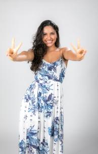 Cearense Cleane Sampaio, 24, chegou até a semifinal do The Voice Brasil 2020.