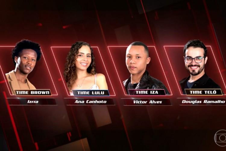 Finalistas da nona temporada do 'The Voice'.  (Foto:  Foto: Globo/ Divulgação)