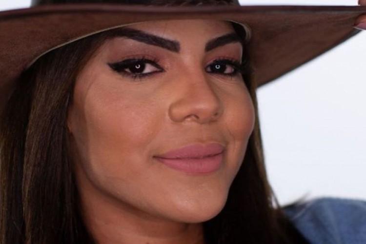Tays Reis disputou a roça da semana com influencers Lipe Ribeiro e Stéfani Bays. Ela recebeu 29,29% dos votos pela permanência na casa (Foto: Divulgação/RecordTV)